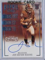JOSH DOCTSON - 2016 Contenders Sepia Rookie Ticket AUTO SP - Redskins RC