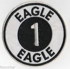 COSMOS 1999 ecusson Aigle 1 porté par les pilotes Space 1999 eagle 1 pilot patch