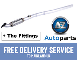 Vauxhall Astra H Zafira 1.6 1.8 16V 05-2015 Front Exhaust Pipe + Clamp & Gasket