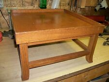 Vintage Mid Century Modern Widdicomb Table Eames Era - Small - Oak