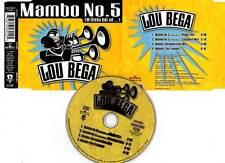 "LOU BEGA ""Mambo No 5"" (CD Maxi 4 Titres) 1999"