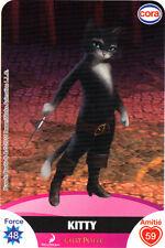 Carte CORA Dreamworks n° 99/112 - KITTY