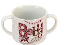 Pink Baby Rocking Horse Design Mug Twin Handled with Gift Box