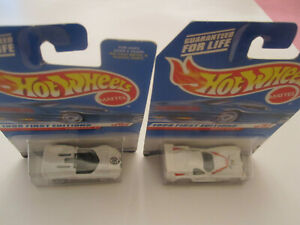 Two Mattel Hot Wheels 1998 First Editions Cars #19 Panoz Gtr-1 Chapparral 2