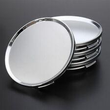 4pcs Universal Chrome Car Wheel Center Caps Tyre Rim Hub Cap Cover Abs Plastic