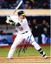BILLY BUTLER - OAKLAND ATHLETICS -   8x10 PHOTO  signed