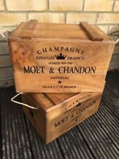 WOODEN STORAGE CHEST CHAMPAGNE CHEST - WINE BOX