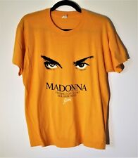 MADONNA VINTAGE SCREEN STARS WHO'S THAT GIRL TOUR T-SHIRT 1987 CHICAGO SHOWRARE