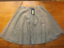 Polyester Checked A-line Regular Size Skirts for Women
