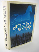 1st Edition WINTER'S TALE Mark Helprin RARE Fantasy FICTION 2nd Printing CLASSIC