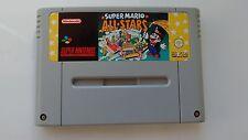 Super Mario All Stars sur Super Nintendo Jouez à 4 jeux mario !!!