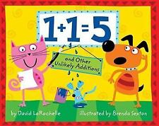 1+1=5 : And Other Unlikely Additions -NEW hardcover fun math ages 4-7