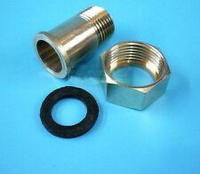 "3/4"" Full Brass Water Meter Coupling Adapter Pump  Brass Connector"