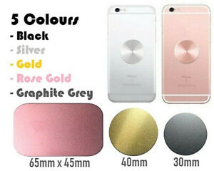 Car Holder Metal Plate Disc for Magnet Self Adhesive 3M Sticker iPhone Samsung