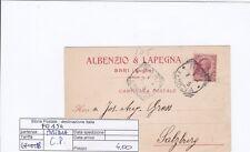 F0154 - CARTOLINA POSTALE PER L'AUSTRIA - LEONI 10 CENT - ISOLATO