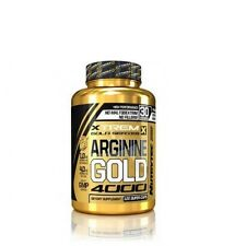ARGININA 120capsulas NUTRYTEC XTREM GOLD arginina pre entrenamiento salud sexual