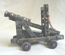 Brass Cannon Pencil Sharpener Vintage 2 1/4 x 3 in.