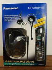 Panasonic Kx-Tg2226Bv 2.4Ghz Gigarange Digital Cordless Answering System