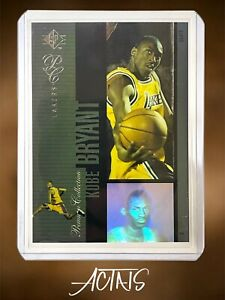 1996-97 SP KOBE BRYANT Premium Collection HOLOVIEWS RC ROOKIE insert READ NOTE