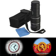 10x40 Dual Focus Optic Zoom Lens Monocular Scope Camping Hiking Night Vision+Bag