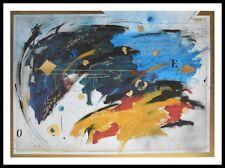 S. Coccia Hommage I Poster Bild Kunstdruck mit Alu Rahmen in schwarz 60x80cm