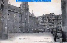 Witzenhausen-Marktplatz-S/W Fotodruck-gebr. 1907