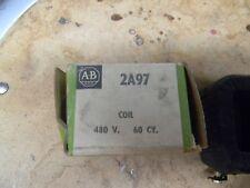 Allen Bradley 2A97 Coil  480 Volt - 60 CY.