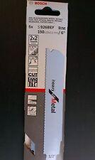 Bosch - Scies alternatives 926BEF 150 25 1,1 pour les métaux-lourds-lot de 5