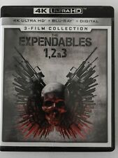 The Expendables - 3 Film Collection (4k/Blu-ray) NO DIGITAL
