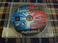 WWE SmackDown vs. Raw 2007 (Sony PlayStation 2, 2006) - Ps2 - Disc Only!