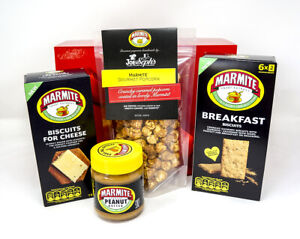 Marmite Yeast Peanut Butter Breakfast BiscuitCheese Popcorn Family Gift Set Box
