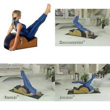 Pilates Barrel Arc Step Spine Corrector Yoga Studio Exercise Equipment DVD Video