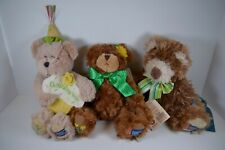 Lot of 3 Boyds Bears American Cancer Society Special Edition
