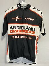 Sugoi Cycling Riding Jersey Shirt Specialized Aggies Stretch Mens Medium