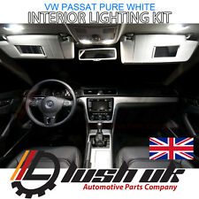 *13PC INTERIOR LED Lights Bulbs KIT PURE WHITE 6000k fit VW PASSAT B6 2005- 2010