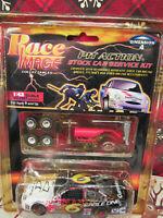 Mark Martin NASCAR Race Image Pit Action Valvoline 1:43 Diecast Car  HTF