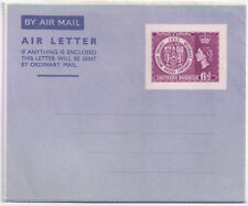 Southern Rhodesia 1953 QEII Air Mail Pre paid 6d Rhodes Centenary Exhitition