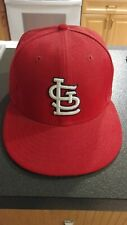 St. Louis Cardinals New Era 59FIFTY MLB  Hat Fitted Size 7 1/8