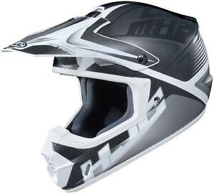 HJC CS-MX2 Ellusion Motocross Helmet Gray XS S M LG XL 2XL 3XL ATV CS-MX CSMX 2