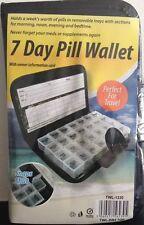 Wallet Boxes Tablet Holder 7 Day Pill Medicine Dispenser Organisers Tablets Case