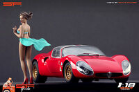 1:18 Wind Girl VERY RARE !! figurine NO CARS !! for diecast collectors by SF