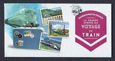 FRANCE 2014 Carnet Adhésif BC 999 VOYAGES EN TRAIN  -NEUF** NON plié LUXE MNH