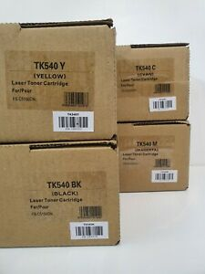 Compatible Laser Toners Kyocera TK540 for use in FS-C5100DN Pack of 4 or Singles