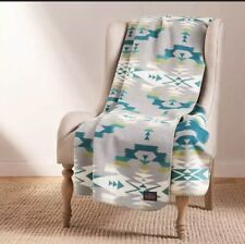 New Pendleton Home Collection Classic Throw Reversible Jacquard Blanket Balsam