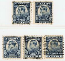 Canada #193(5) 1932 5 cent blue PRINCE OF WALES (EDWARD VII) 5 Used CV$20.00