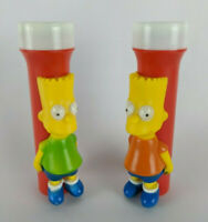 "(2) The Simpsons - Bart Simpson - Colorfull Flashlights ~ 5-3/4"" - Working"