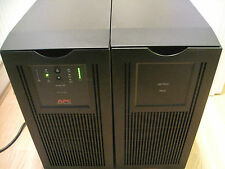 APC SMART-UPS SUA 3000XLi TOWER UPS WITH NEW RBC55 BATTERIES & BATTERY PACK 46