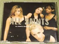 ALL SAINTS NEVER EVER RARE OOP 3 TRACK IMPORT REMIX CD FREE SHIPPING