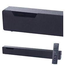 auvisio Stereo-Soundbar mit Bluetooth 4.0, 2 integr. Subwoofern, DSP, 120 Watt
