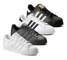 Adidas Originals Hommes Superstar Neuf Cuir Baskets SPORTS Baskets